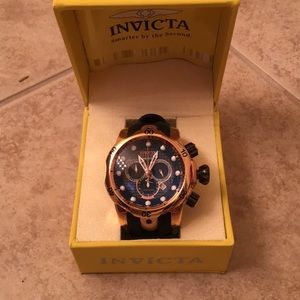 Men's Rose Invicta VENOM Rose Gold watch